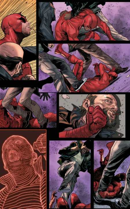 Daredevil #1 Daredevil Struggles