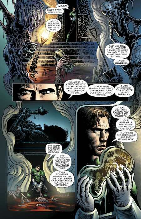The Green Lantern #5 Moment