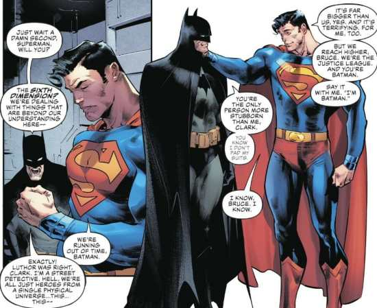 Justice League #19 Moment