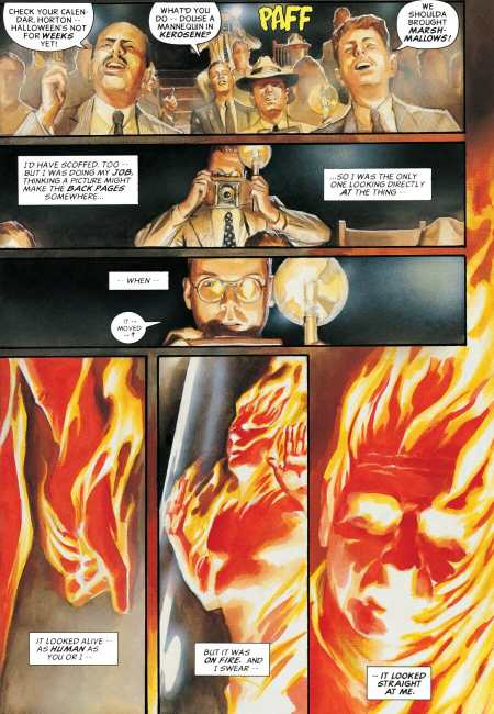 Marvel Annotated #1 Human Torch Debut