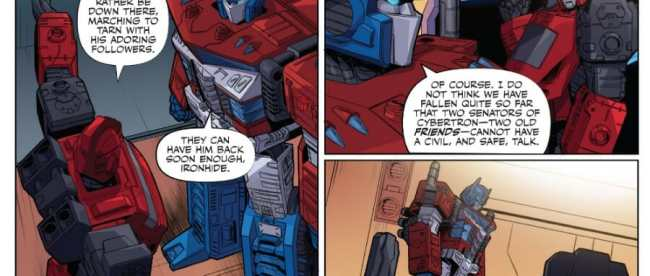 Transformers #1 Review