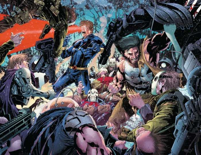 Uncanny X-Men #11 Cyclops and Wolverine Go To Work