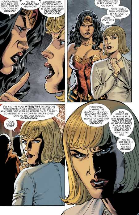 Wonder Woman #64 Wonder Woman Learns The Truth