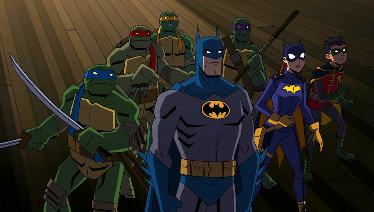 Wondercon 2019 Batman Vs Teenage Mutant Ninja Turtles Review