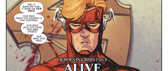 DC Comics Heroes in Crisis #8 Review