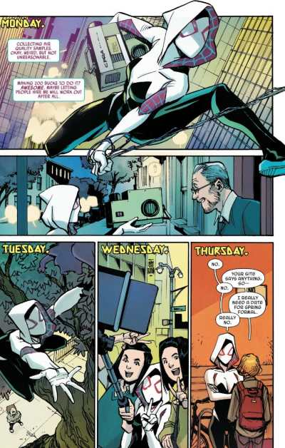 Spider-Gwen Ghost Spider 7 Moment