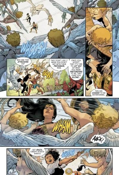 Wonder Woman #69 Moment