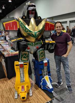 WonderCon 2019 Dragonzord Battle Mode