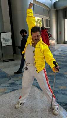 WonderCon 2019 Freddie Mercury
