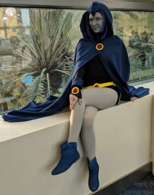 WonderCon 2019 Teen Titans Raven