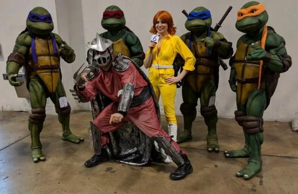 WonderCon 2019 Teenage Mutant Ninja Turtles April Shredder