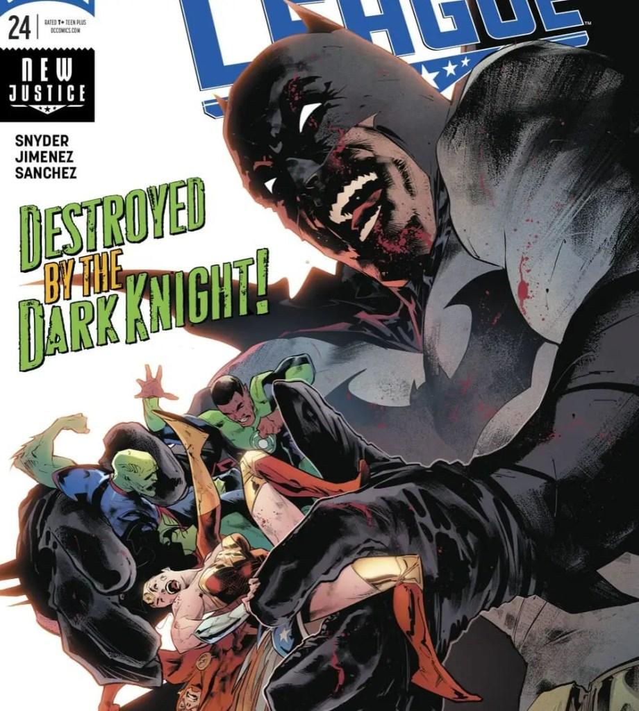 DC Comics Justice League #24 Review