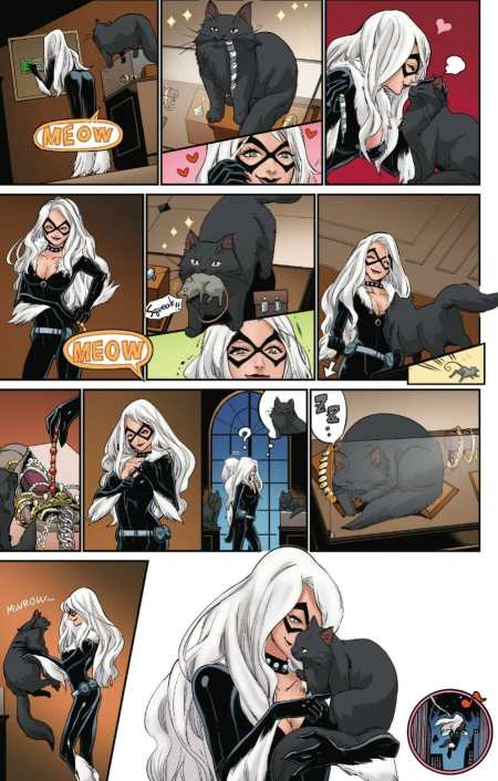 Black Cat #1 Heist Moment