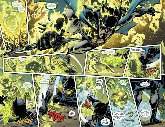 Detective Comics #1005 Batman Through Flames Moment