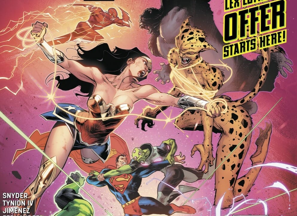 DC Comics Justice League #25 Review