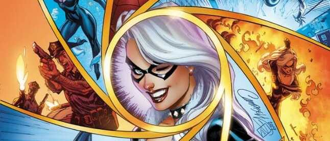 BLACK CAT #5 COVER
