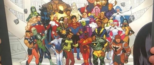 DC Comics Bendis Legion of Super-Heroes