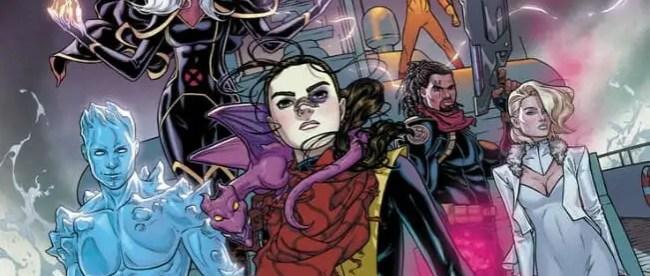 SDCC 2019 X-Men Panel Marauders Cover