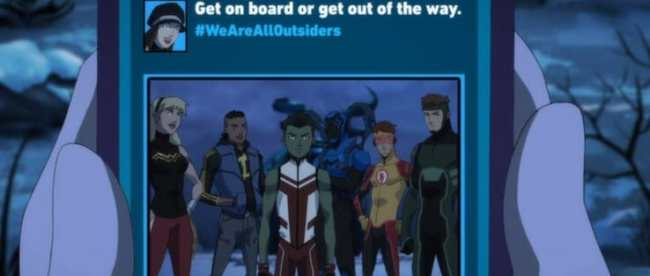 Young Justice Outsiders Episode 17 First Impression WeAreAllOutsiders