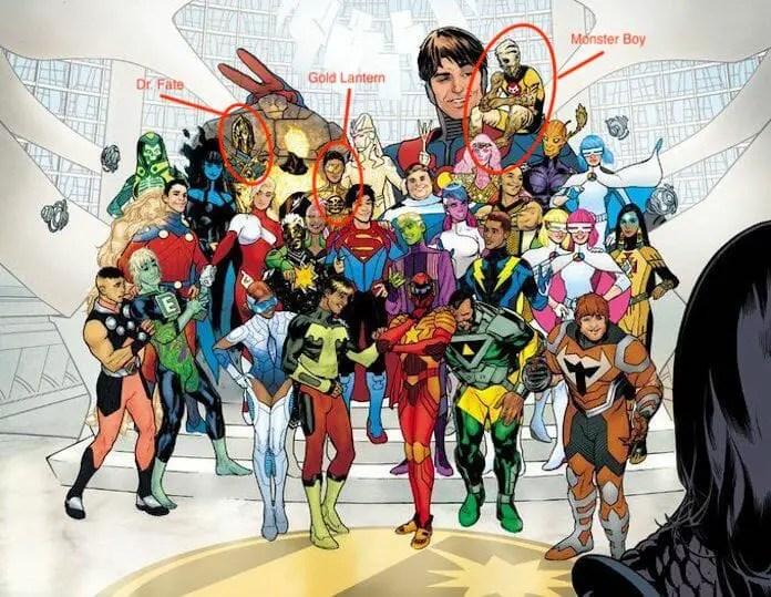 Bendis Legion of Super-Heroes