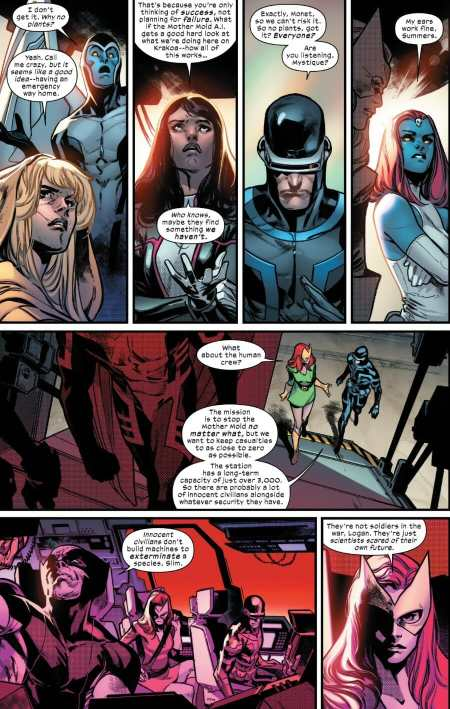 House Of X #3 Highlight