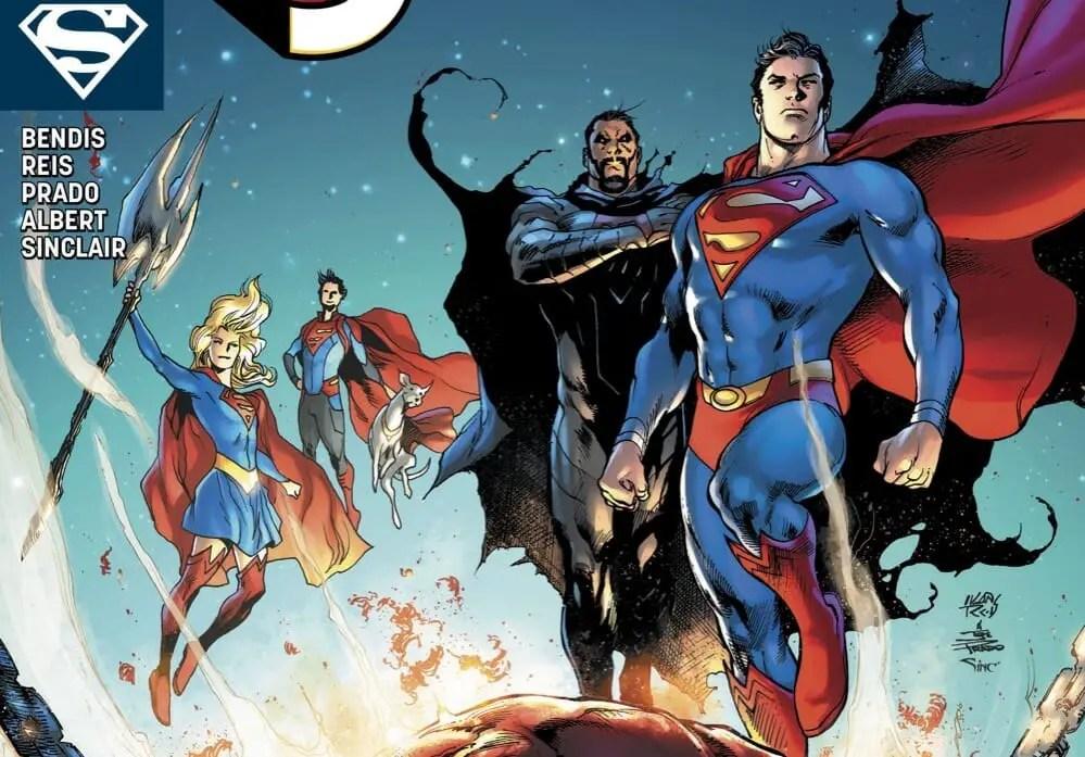 DC Comics Superman #14 Review Legion of Super-Heroes