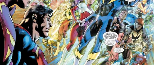 DC Comics Superman #14 Review Legion of Super-Heroes