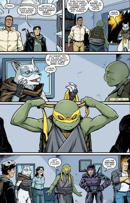 Teenage Mutant Ninja Turtles #97 Highlight