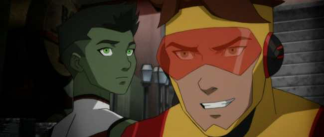 Young Justice Outsiders Episode 24 Into The Breach Beast Boy Kid Flash