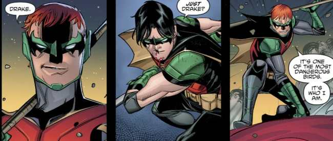Origin Of Tim Drake New Superhero Name