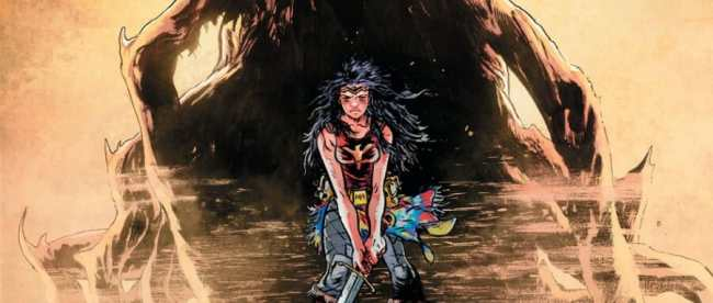 Wonder Woman: Dead Earth #1 Cover
