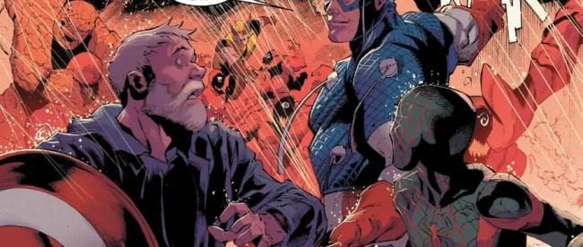 Captain America Gives Eddie Brock Props