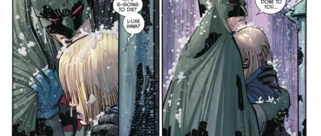 Flashpoint Batman helps Gotham Girl