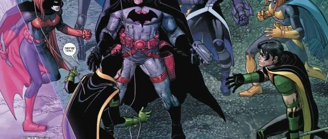 Flashpoint Batman vs Batman Family