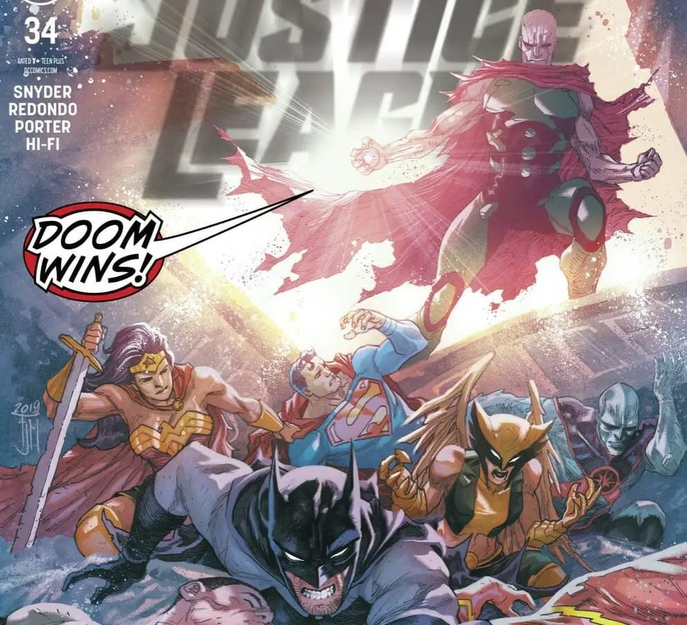 Justice League #34 Review