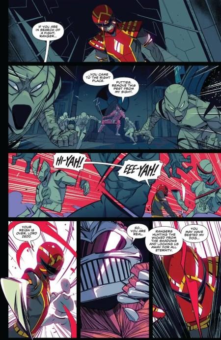Mighty Morphin Power Rangers #44 Moment