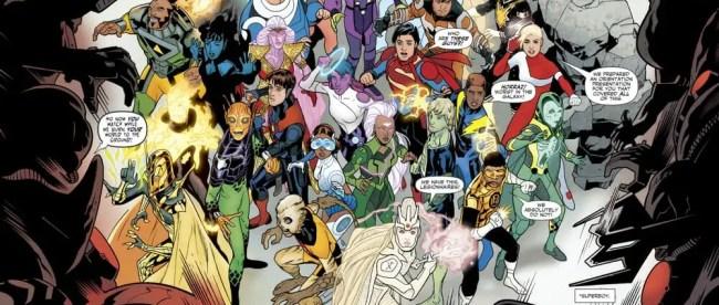 DC Comics Legion of Super-Heroes #1 Review