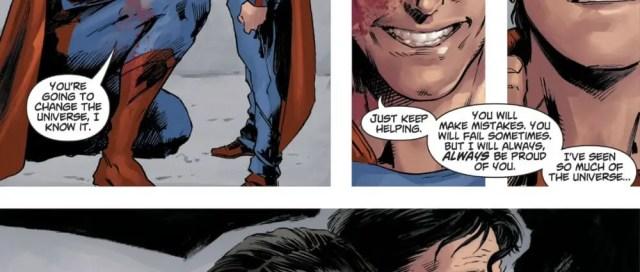 DCeased Superman Final Talk With Superboy