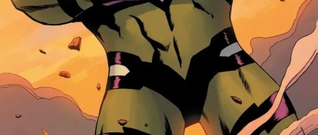 Captain Marvel #14 - Captain Marvel vs She-Hulk