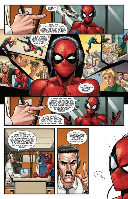 Amazing Spider-Man 39 Jonah Jameson Spider-Man Talk History