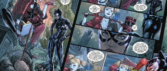 Batman #89 Harley Quinn Catwoman