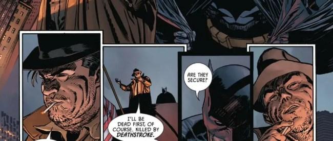 Batman Meets Harvey Bullock