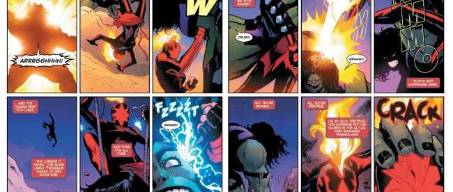 Captain Marvel #15 She-Hulk Dominates