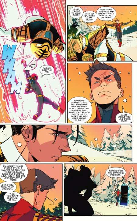 Mighty Morphin Power Rangers 48 Jason vs Tommy