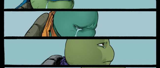 Teenage Mutant Ninja Turtles Mourn Master Splinter Death