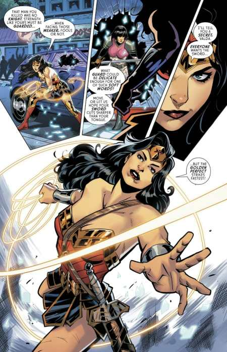 Wonder Woman 752 Golden Perfect Strikes
