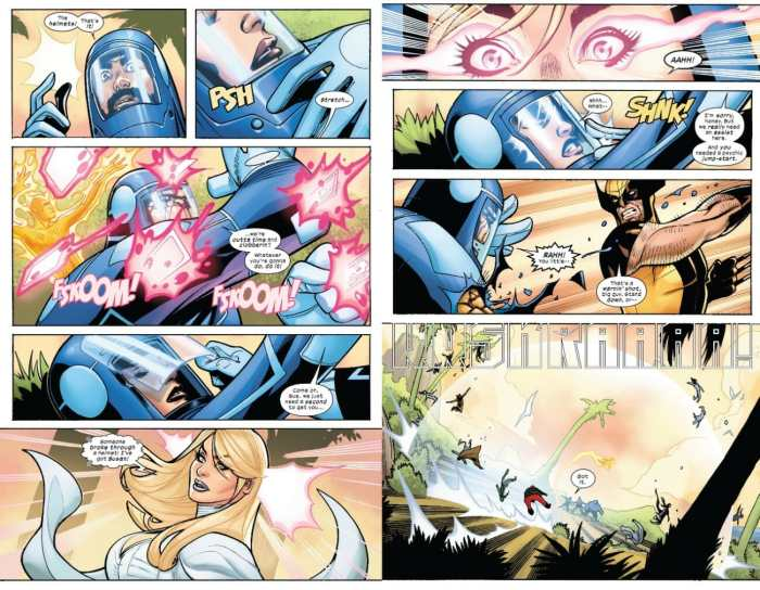 X-Men/Fantastic Four 2 Invisible Woman Powers Up