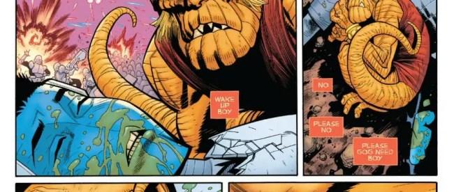 Amazing Spider-Man #42 Gog Tearful Reunion