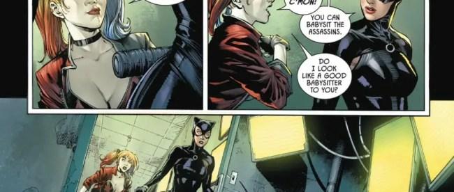 Batman #91 Harley Quin Catwoman