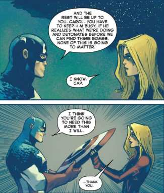 Captain Marvel #16 Moment